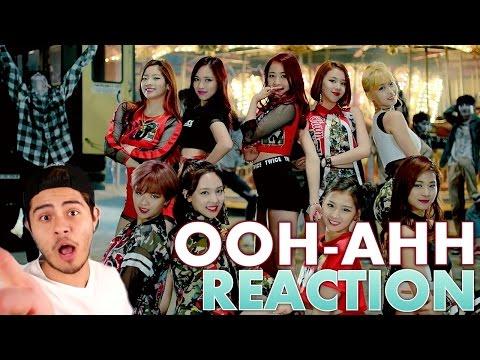 TWICE OOH-AHH하게(Like OOH-AHH) MV (REACTION)