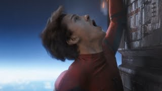 Avengers Infinity War / Spider-Man Fall Scene (New Iron Spider Suit)