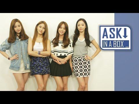 ASK IN A BOX: KARA(카라) _ Mamma Mia(맘마미아) [ENG/JPN/CHN SUB]