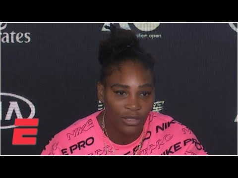 Serena Williams: I wouldn't play if I didn't believe I could win another slam | 2020 Australian Open