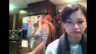 Bella Thorne & Zendaya dancing to Ke$ha's
