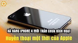 Xả hàng iPhone 4 chưa Kích Hoạt cực hiếm chỉ hơn 1 triệu