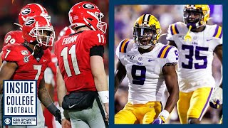 #4 Georgia at #2 LSU Preview | Inside College Football