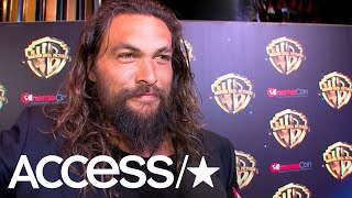 Jason Momoa On What Fans Will Get In 'Aquaman'; Will His Kids Appear In The Film? | Access