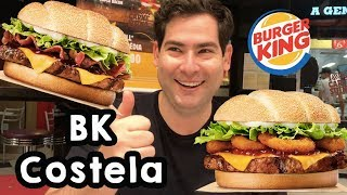 Provei o BK Costela Barbecue Bacon - O sanduíche de costela do Burger King