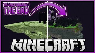 I Transformed The End in Minecraft with Mods!