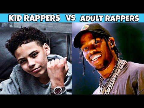 KID RAPPERS VS ADULT RAPPERS 👦🏽🔥👨🏽🦱