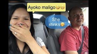 LAZY PREGNANT  TWIN PREGNANCY   Filipina American Couple