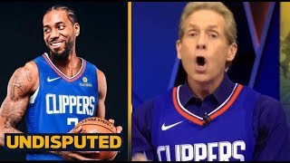UNDISPUTED - Skip Bayless Reveals officially a