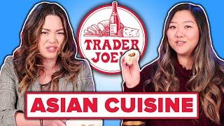 Asian People Taste Test Trader Joe's Asian Food