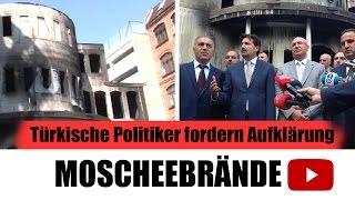 Moschee-Brände in Deutschland - Türkische Politiker fordern Aufklärung