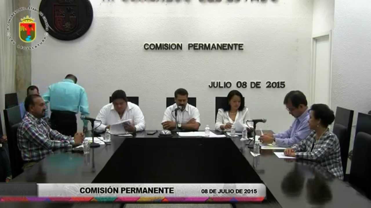 Comisión Permanente 08 de Julio de 2015