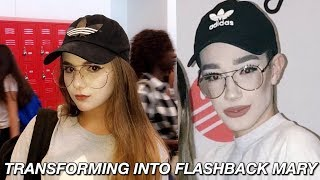 TRANSFORMING INTO FLASHBACK MARY (MEME DAY)