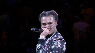 Lil Pump Halftime Performance at 2019 NBA Finals | Raptors vs Warriors Game 3