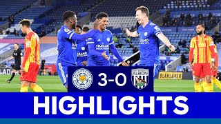 Fantastic Foxes Beat Baggies On Filbert Way   Leicester City 3 West Bromwich Albion 0   2020/21