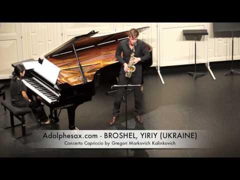 Broshel, Yiriy Concerto Capriccio by Gregori Markovich Kalinkovich