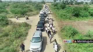Watch: Chandrababu Amaravati Tour Drone Visuals..