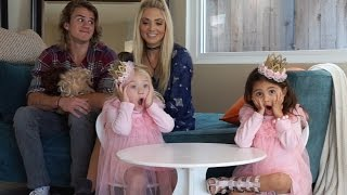 ARE YOU GOING TO MARRY MY MOMMY?!?! Q&A with Cole & Savannah | ForEverAndForAva