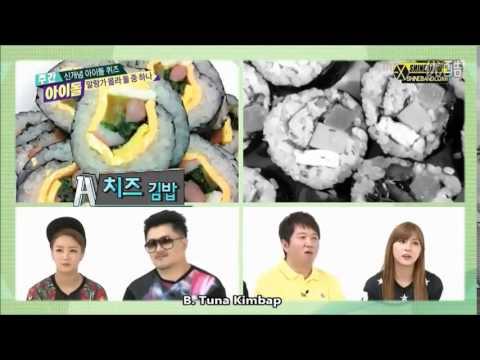 [ENG SUB] 에프엑스 f(x) Krystal and 엑소 EXO Sehun 'Weekly Idol' cut