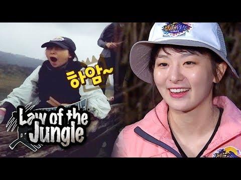Is Seul Gi Sleeping~? [Law of the Jungle Ep 321]