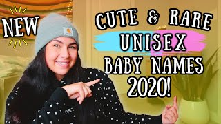 20 Unique & RARE GENDER NEUTRAL/UNISEX Baby Names 2020 (For Boys + Girls) | Baby Names I love!