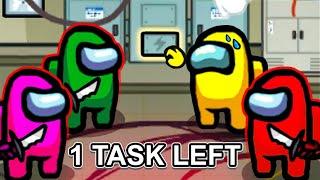 3 IMPOSTERS VS 1 TASK CREWMATES...
