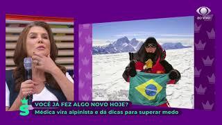 Ana Elisa Boscarioli fala sobre alpinismo - SuperPoderosas 23/08/2018