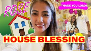 ROSE | My house blessing!