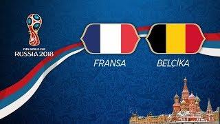 France v Belgium - MATCH 61 @ 2018 FIFA World Cup