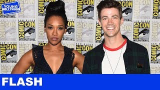 The Flash Tattoos With Grant Gustin, Candice Patton, & the Cast at Comic-Con!