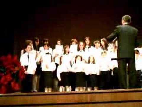 GLORIA A DIOS EN LAS ALTURAS  Coro de voces blancas