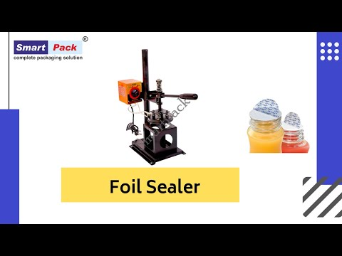 Foil Sealer   Hand Operated Sealing Machine