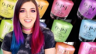 OPI Hidden Prism Nail Polish Collection Swatches and Review    KELLI MARISSA