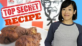 KFC SECRET Recipe Revealed? - Deep Fried vs. AIR FRIED - KFC's 11 herbs & spices