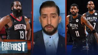 Rockets trade Harden to Nets — Nick talks winners & losers of 4-team deal   NBA   FIRST THINGS FIRST