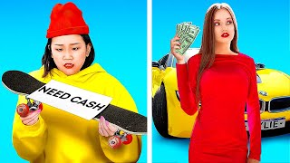 RICH VS POOR STUDENTS! || Funny Types Of Students In School by 123 Go! Live!