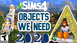 OBJECTS WE NEED IN 2020: SIMS 4
