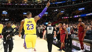 LeBron James RETURNS TO CLEVELAND as a LAKER!