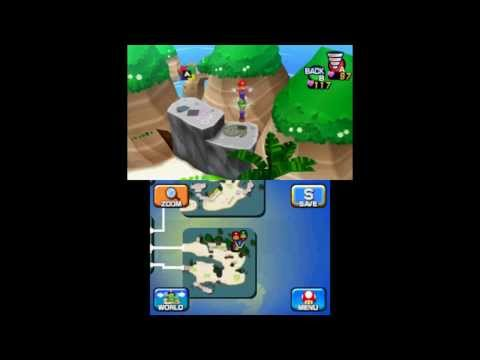 Mario & Luigi: Dream Team - Driftwood Shore & Dreamy Driftwood Shore Attack Block Locations - Smashpipe Games