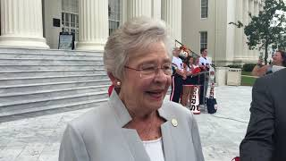 Gov. Kay Ivey on Brett Kavanaugh confirmation