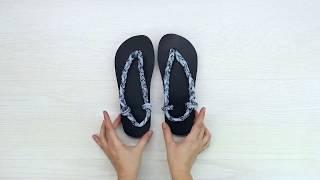 how to make flip flops into slippers/diy flip flops