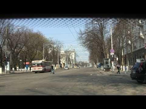 Видеопутешествие по Кишинёву: почти все районы