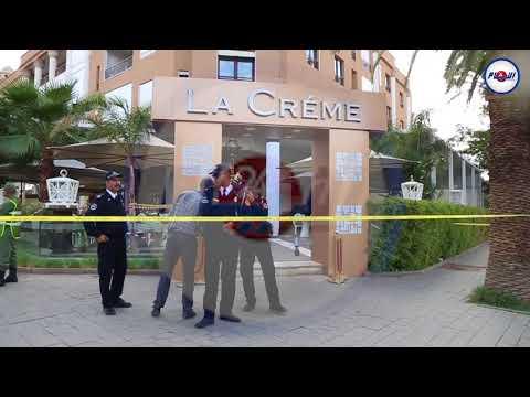 شاهد المقهى التي حدث فيها إطلاق النار بمراكش