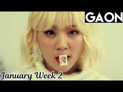 [TOP 100] Gaon Kpop Chart 2018 [January Week 2]