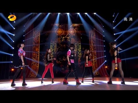 f(x) 에프엑스_Electric Shock (Special Stage)(China Hunan SatelliteTV New Years_February.04.2013)