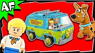 Lego Scooby-Doo MYSTERY MACHINE 75902 Stop Motion Build Review
