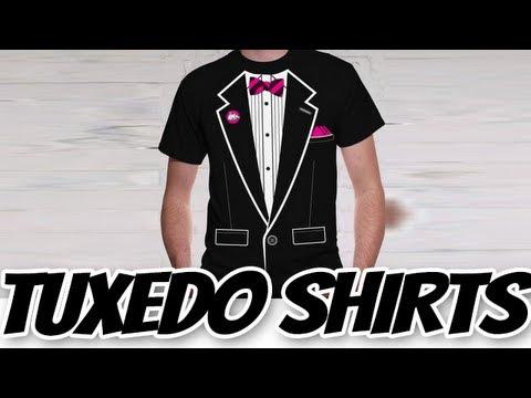 Tuxedo T-Shirts - Tuxedo Tees - Cheap Tuxedo Shirts (BEWILD.COM)