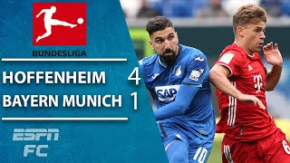 Bayern Munich highlights: TSG Hoffenheim STUN the European Champions | Bundesliga highlights