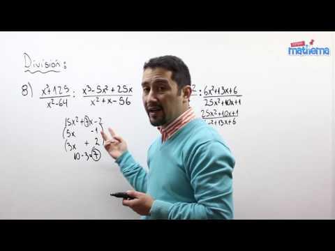 Fracciones algebraicas 15