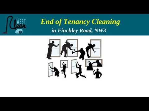 End of Tenancy Cleaning in Finchley Road, Nw3 - West Clean